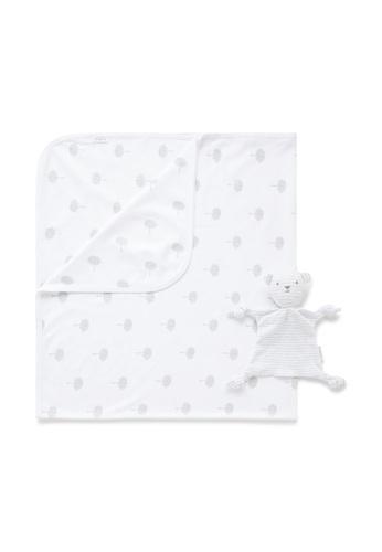 Purebaby grey Bunny Rug  & Snookie Pack CEAC1KC4898681GS_1