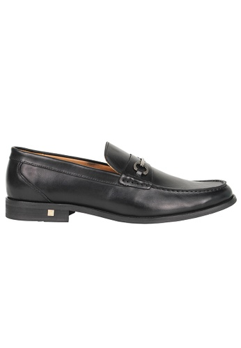 Tomaz black Tomaz F179 Buckled Penny Loafers (BLACK) AF628SHF6B3551GS_1