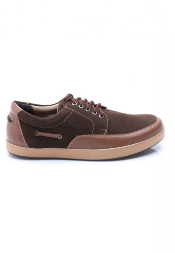 Sogno brown Sogno Vastusel 0052 Sneaker Shoes Coklat SO956SH96VTBID_1