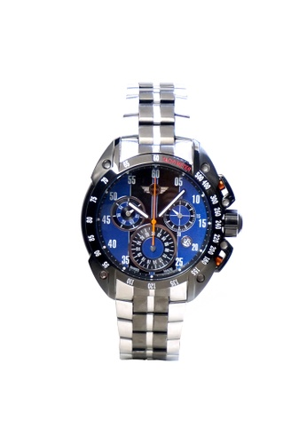 Mini blue Chronograph Watch MI057AC94DAJHK_1