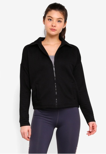 Cotton On Body black Ribbed Jacket C7714AAD0C7B22GS_1
