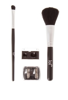 Sharpener, Eyeshadow Brush & Powder Brush