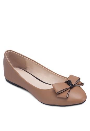 蝴蝶結平底鞋, 女鞋,esprit tst 鞋
