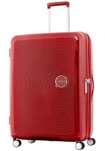 American Tourister red American Tourister Curio Spinner 80 30 Exp TSA  216E6ACCCF0865GS 1 aed65e4438