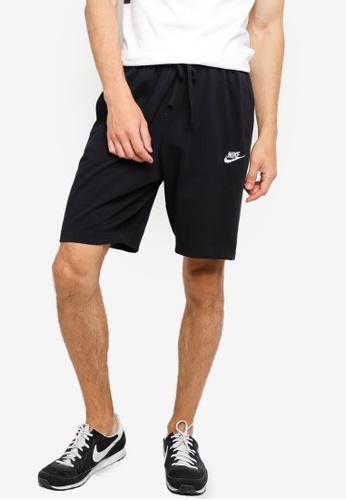 Nike black Men's Sportswear Club Fleece Shorts BC677AA4BECE0BGS_1