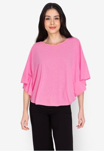 Chictees pink Brenda Shirt 22299AA738A503GS_1