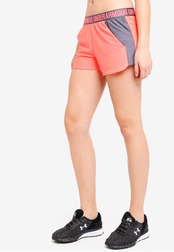 Under Armour pink Play Up Shorts 2.0 1C822AA61FFA63GS_1