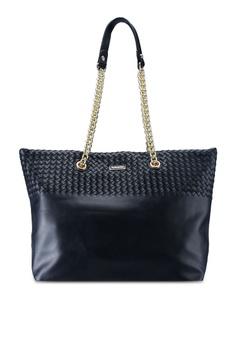 93356f5763 Perllini Mel black Faux Leather Tote Bag 5DF87ACDB7F8A6GS 1