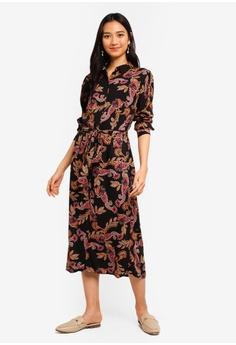 04bf98e7154602 Dorothy Perkins black and multi Paisley Shirt Dress 60754AAA116081GS_1