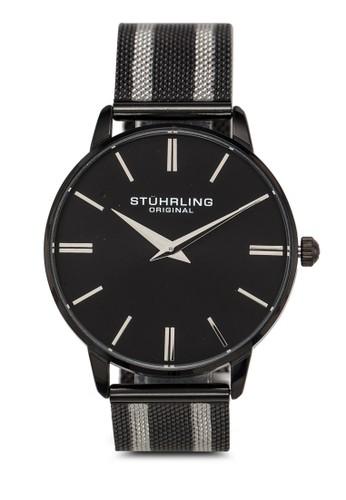Stuhrling Original black Preston 4000 Watch 5205BAC179A8B0GS_1