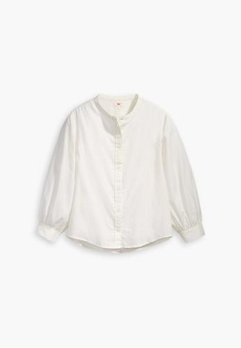 Levi's white Levi's Hailey Blouse 23987-0001 A69C8AAB93224CGS_1