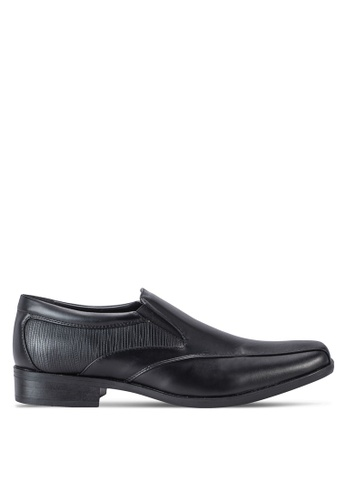 Louis Cuppers black Business Shoes LO977SH62AZTMY_1