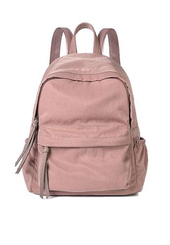 Twenty Eight Shoes pink VANSA Nylon Oxford Backpacks VBW-Bp19107 EE08DACA94BF73GS_1
