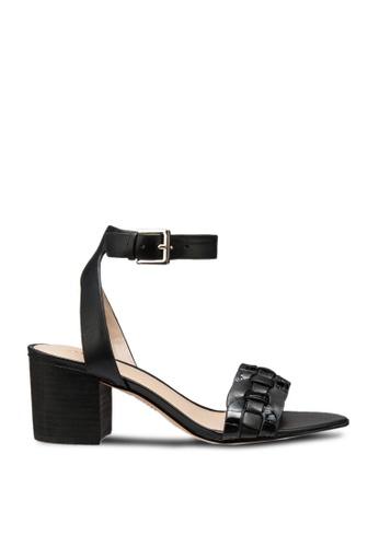 ALDO black Katerina Open Toe Ankle Strap Block Heels 69AB6SHF6016E7GS_1