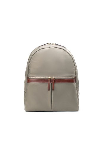 Maverick & Co. green Maverick & Co. Ernest Light Nylon Day Backpack - Olive A9D43AC0CDEB09GS_1
