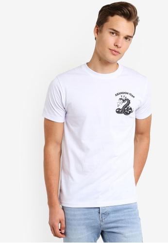 Graphite white Greed T-Shirt GR677AA46SOZMY_1