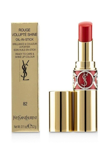 YSL red YSL-Rouge Volupte Shine 4.5g #82(333246_3614272333246) EBB54BE6BF7621GS_1