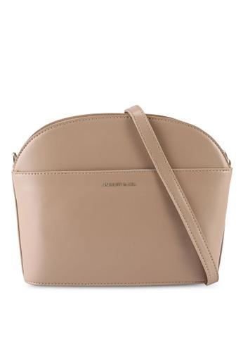 Milliot & Co. beige Faith Sling Bag 6D321AC04C3B5FGS_1