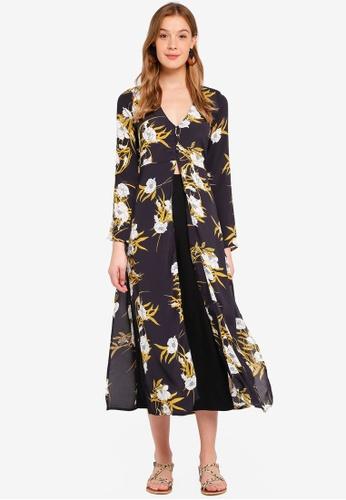Miss Selfridge multi Bloom Floral Tunic AB1DBAA3A7E300GS_1