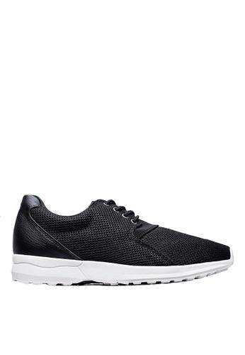 Life8 black iStarKu X MRJ Co-Branded Elastic Sporty Shoes-09706-Black LI283SH0FVA5SG_1