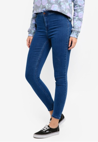 Superdry blue Evie Jeggings SU137AA0T1ZVMY_1