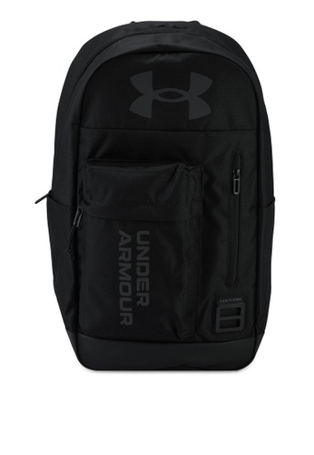 Under Armour black UA Halftime Backpack 0A7F3ACAE3B783GS_1