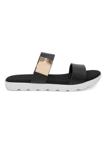 midzone black YLY Lady Comfortable Sandals MI949SH0RTZQMY_1