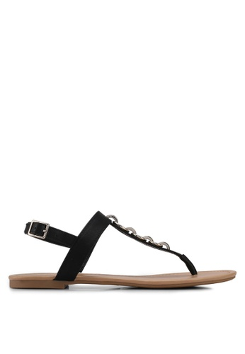 Call It Spring black Asauclya Sandals DD7F9SHD528EA8GS_1