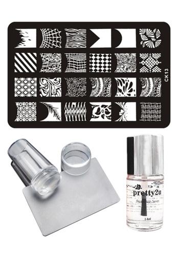 Pretty2u Nail Art Stamp Plate CK13 Set PR716BE36IQXMY_1