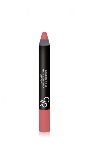 GOLDEN ROSE orange Matte Lipstick Crayon - 13 GO743BE98DZPMY_1