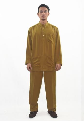 Denai Boutique green Baju Melayu Atta 2A884AA21A35ADGS_1