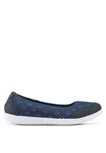 North Star navy Round Toe Flats C55E5SH4E0F35AGS_1