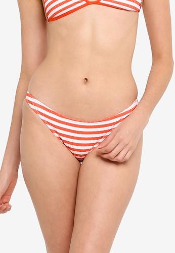 Billabong orange Suns Out Stripe Tropic Bikini Bottom E001EUS9CF9E06GS_1