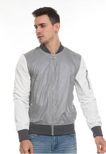 Manzone grey ABNEY-GREY Jacket 1806BAAB971E02GS_1