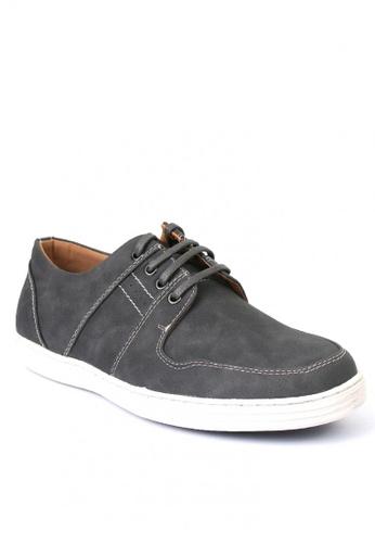 7soles grey Gideon Men Loafers A20C7SH1A22D79GS_1