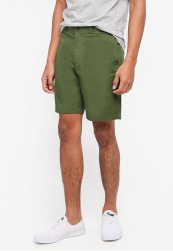 J.Crew green Stretch Cotton Shorts CF16CAAF9FC52FGS_1