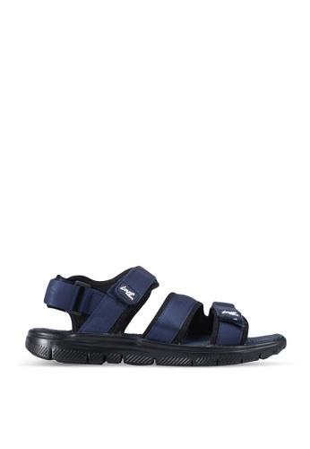 Louis Cuppers blue Casual Sandals AE506SHC3EC86BGS_1