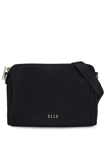ELLE black Charice Sling Bag 70851AC29D90C5GS_1