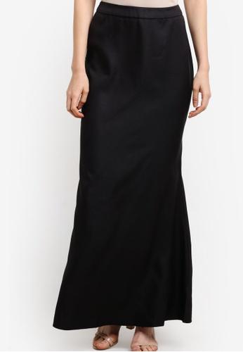 Soonaru black Mermaid Skirt SO016AA12PDBMY_1