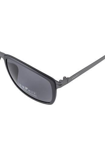 f804fd9e952 Buy ESPRIT ESPRIT Square Black Sunglasses ET17921 Online