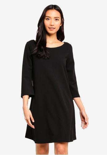OVS black Basic Black Dress 4EBAFAA1133753GS_1