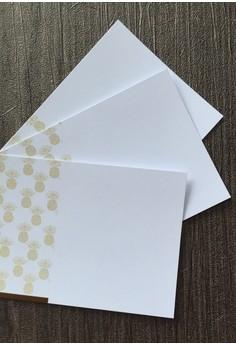 Pineapple Notecards 12pcs/set