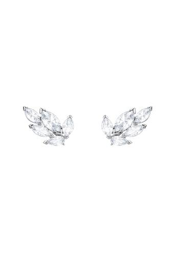 Swarovski silver Louison Stud Pierced Earrings 10742ACD379387GS_1