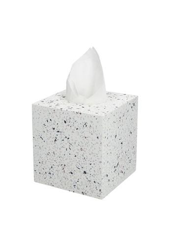JVD JVD Lifestyle Terrazzo Tissue Box 9ADE9HL0C9D275GS_1
