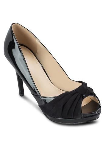 蝴蝶esprit china結露趾高跟鞋, 女鞋, 魚口鞋
