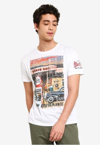 c6c3bae1e990 Buy Brave Soul Photographic Crew Neck T-Shirt Online | ZALORA Malaysia