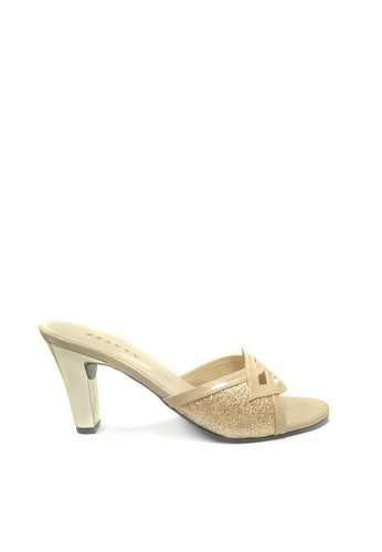 Beauty Shoes beige Beauty Shoes 1377 Heels Cream B2C6CSHB2E483AGS_1