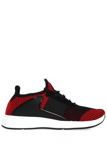 New York Sneakers red Lawrie M6 Men's Rubber Shoes 98C15SH6330565GS_1