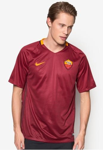 Nike red Men's A.S. Roma Stadium Top NI126AA11EJKMY_1