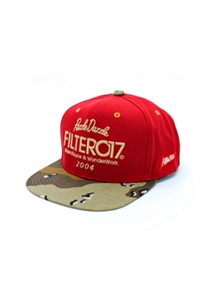 c0f7949f709 B IN SELECT brown and red Filter017 - RD Fabric Snapback Cap  BI621AC29SHQPH 1
